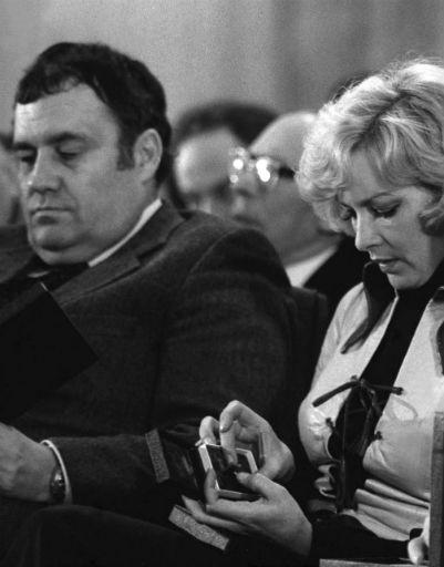 Режиссер с Барбарой Брыльска, 1978 год