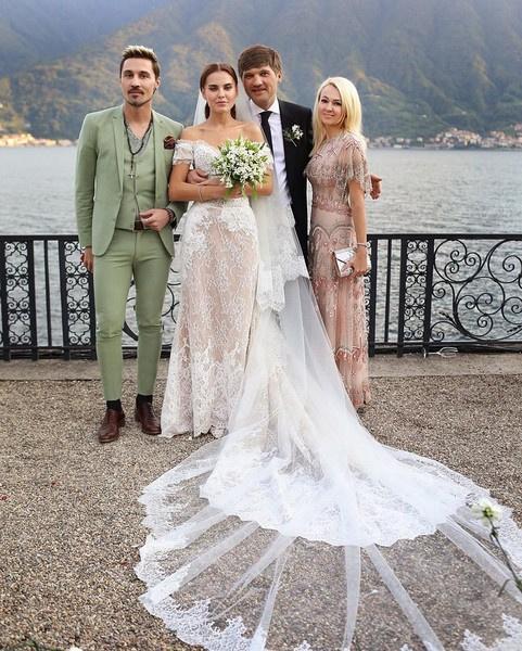 Дарья Клюкина отпраздновала свадьбу на озере Комо
