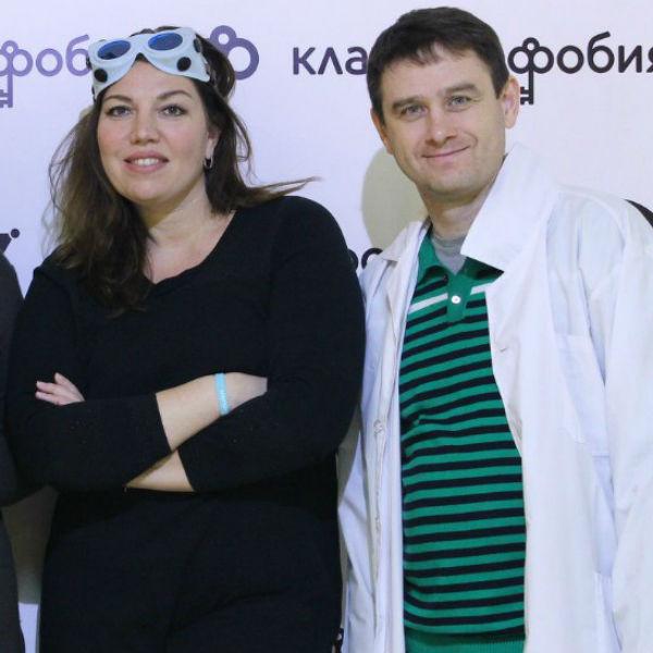 Екатерина Скулкина с мужем Денисом