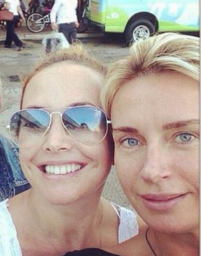 Жанна с подругой