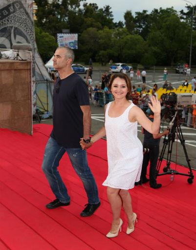 Валентина Рубцова с мужем Артуром Мартиросяном