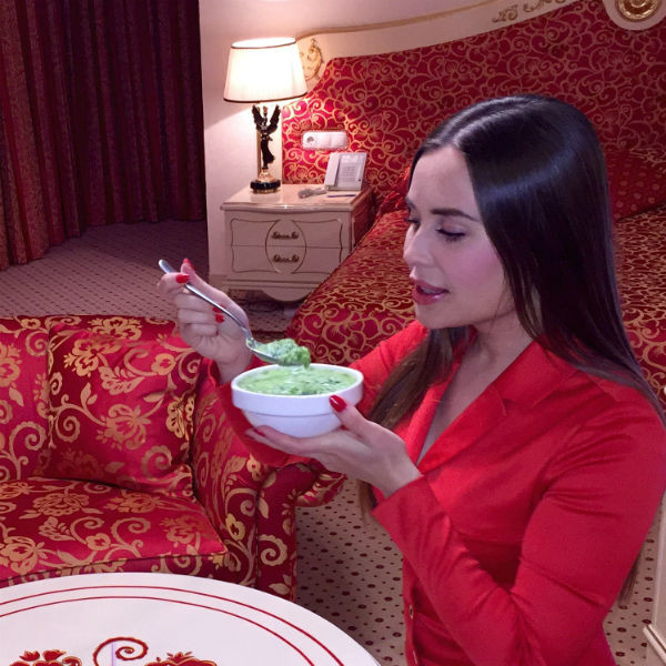Юля разработала собственный рецепт диеты