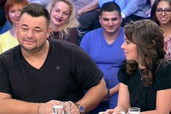 Сергей Жуков и его жена Регина в гостях у Андрея Малахова