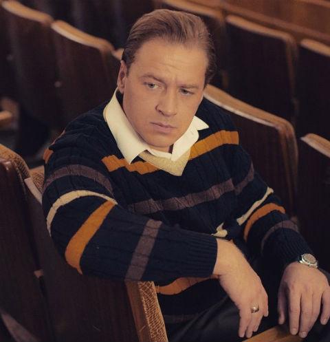 Алексей Барабаш в роли Валерия Ободзинского в сериале «Эти глаза напротив»