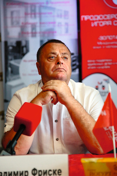 Владимир Фриске переживает за будущее внука