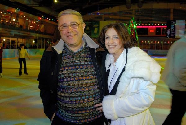 Евгений Петросян с дочерью Викториной