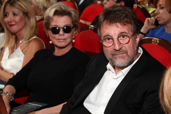 Леонид Ярмольник с супругой Оксаной