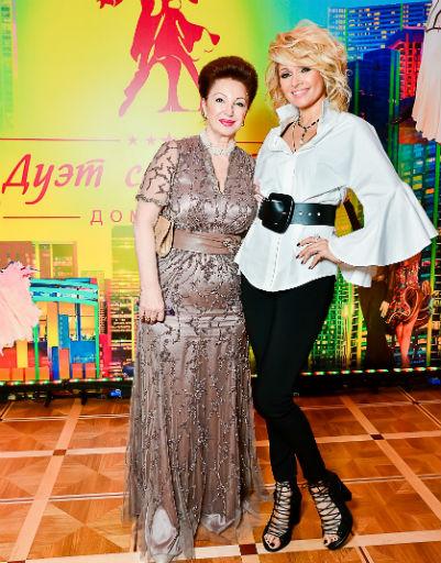 Лейла Адамян и Анжелика Агурбаш