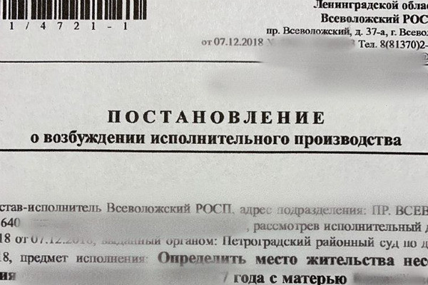 Постановление Петроградского районного суда