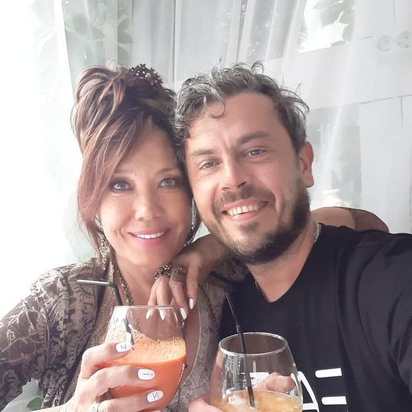 Азиза и ее муж Алессандро Лорте (Александр Соколов)