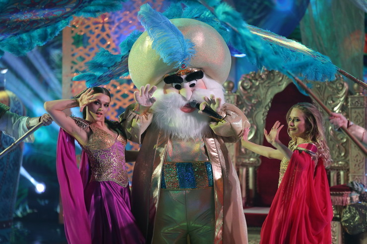 Бедрос Киркоров в образе Султана удивил всех