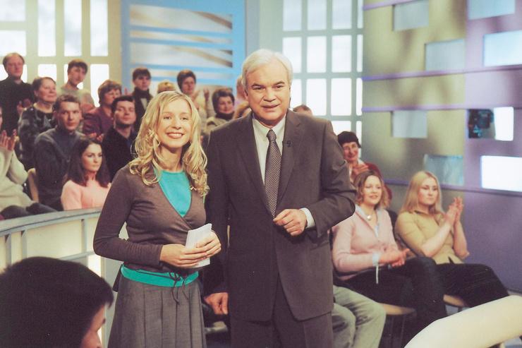 Владимир Молчанов вел ток-шоу «Частная жизнь» с Ликой Кремер