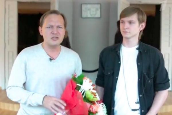 Данила и Андрей Перовы, сын и внук Рязановой