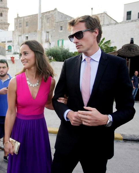 Пиппа собиралась замуж за биржевого брокера Нико Джексона