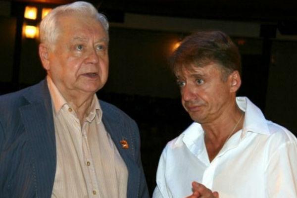 Олег Табаков с сыном Антоном