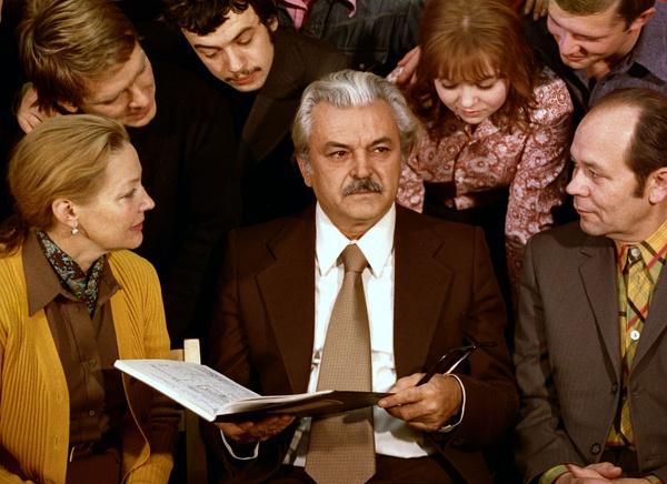 Сергей Бондарчук преподавал вместе с супругой