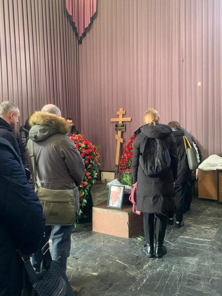 В Москве простились со звездой сериала «След» Олегом Валкманом