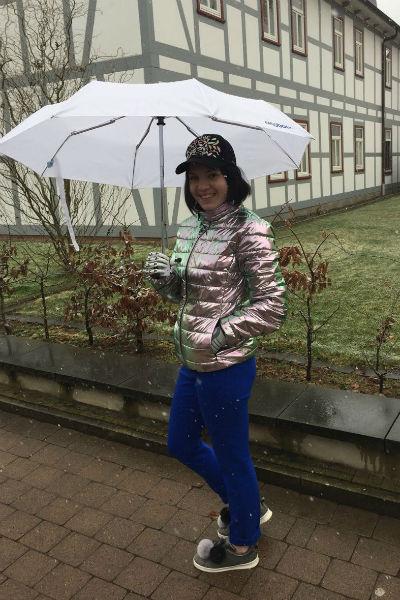 Маргарита Грачева уже научилась управлять протезом