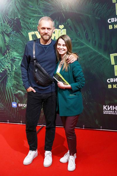 Денис Шведов с супругой Александрой
