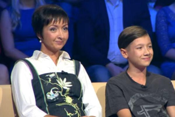 Сестра Андрея Губина с сыном