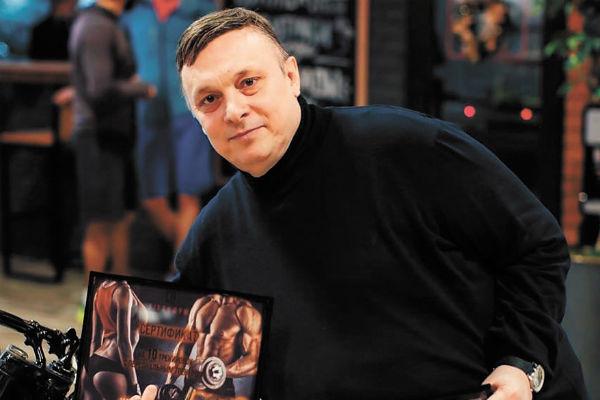 Друг музыканта Андрей Разин