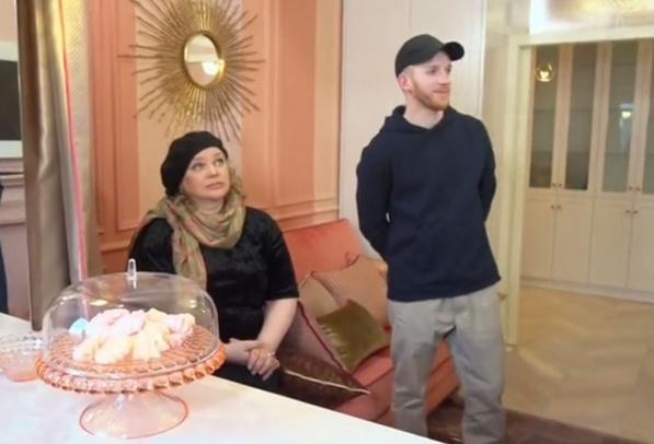 Ольга Машная и ее сын Дмитрий
