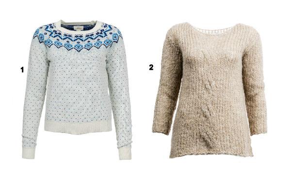 Пуловер Levi's и джемпер Lovini