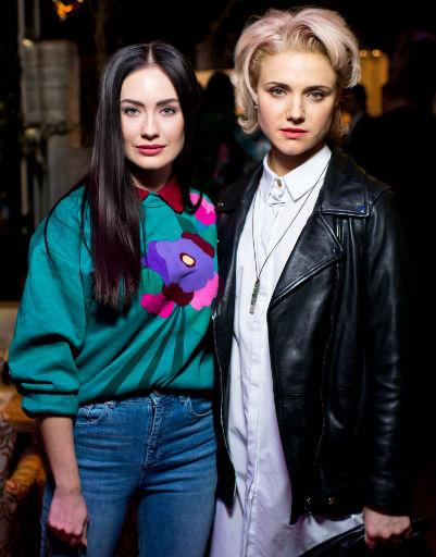 Александра Попова и Ирина Тонева