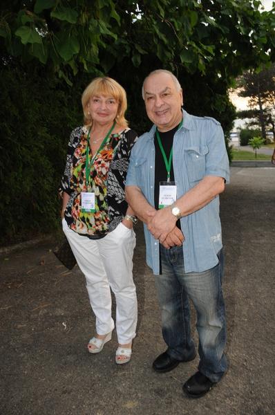 Левон Оганезов с супругой