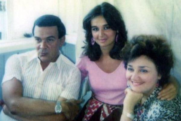 Тамара Синявская подружилась с дочерью Магомаева Мариной