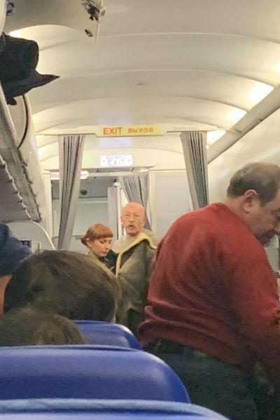 Розенбаум помог пассажиру