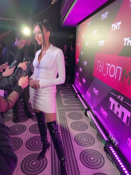 Анастасия Решетова на презентации шоу