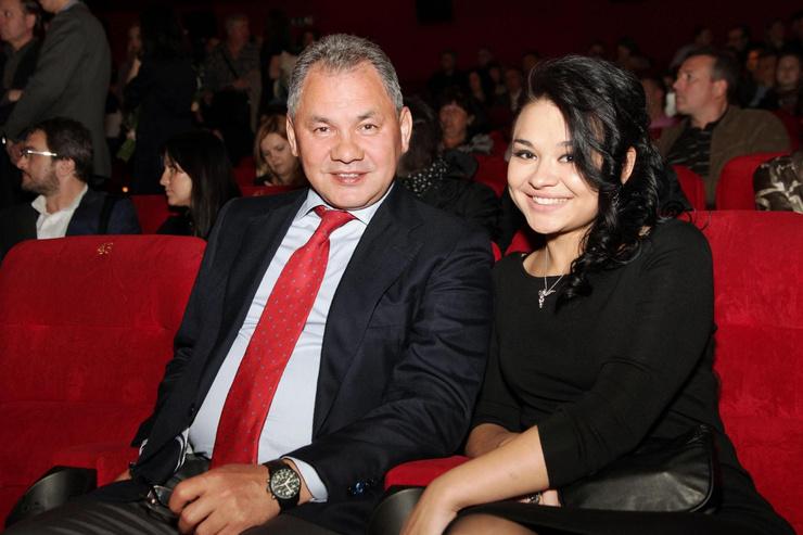 Сергей Шойгу вместе с дочерью Ксенией