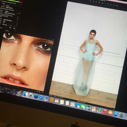 В фотосъемке для лукбука первой коллекции звезды снялась модель Дарья Малыгина