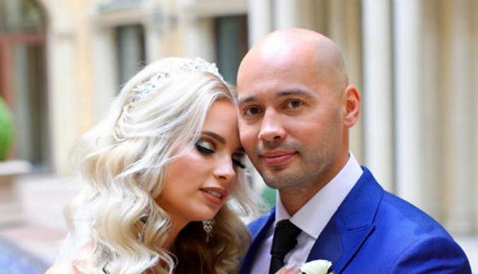 Андрей Черкасов и Кристина Ослина сыграли свадьбу