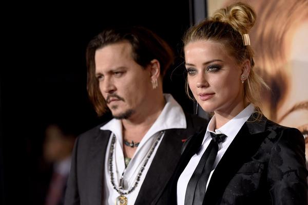 Эмбер и Джонни подали на развод всего через год после свадьбы