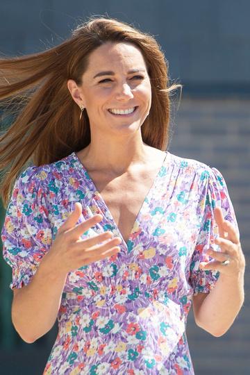 Кейт 25 июня 2020 года посещает деревню Фрамлингем-Эрл