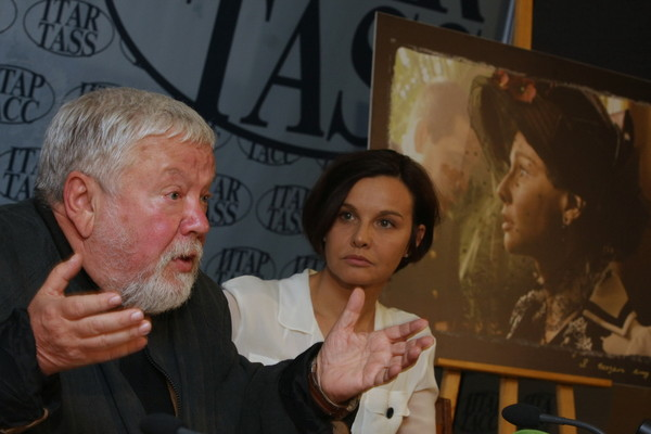 Актриса с бывшим мужем Сергеем Соловьевым