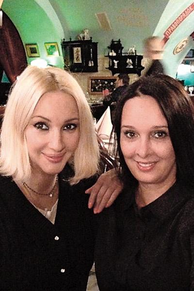 Лера Кудрявцева и Оксана