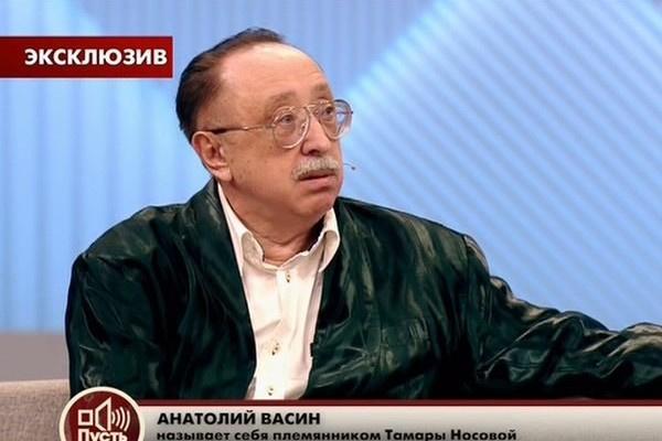 Анатолий Васин претендовал на квартиру артистки