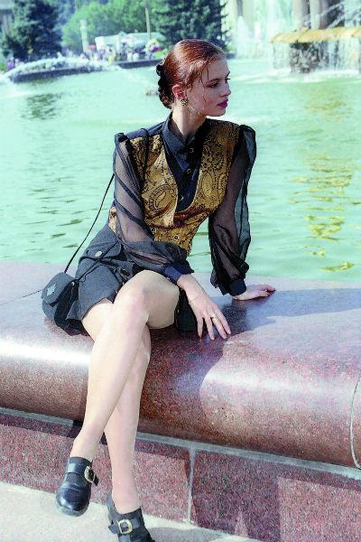 В 1996 году Семенович снималась для обложки журнала «Работница»