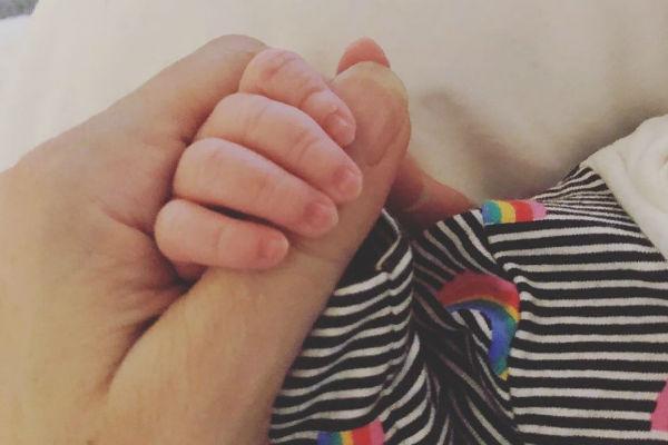 Натали Имбрулья впервые стала мамой