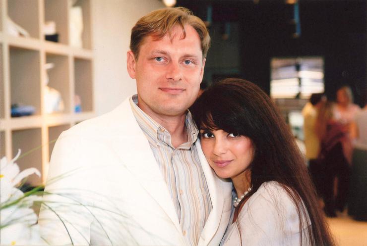 Владимир Маругов с бывшей женой Татьяной