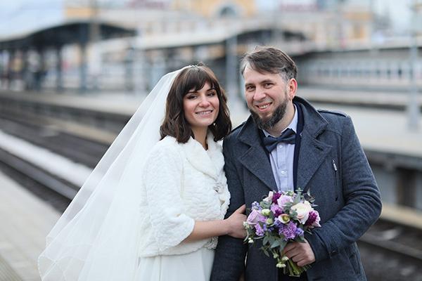 Стиль жизни: Самая необычная свадьба года прошла в… электропоезде МЦД! – фото №2