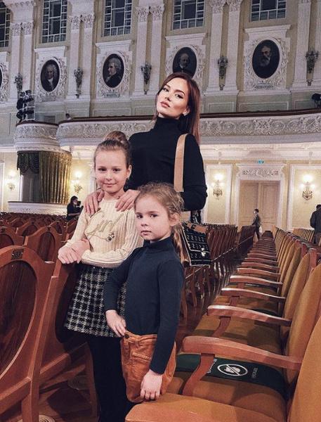 Юлия с дочками, Полиной и Ариной