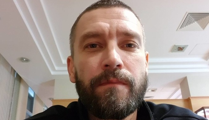 Владимир Кристовский крестил сына