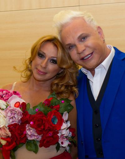 Алена Апина и Борис Моисеев