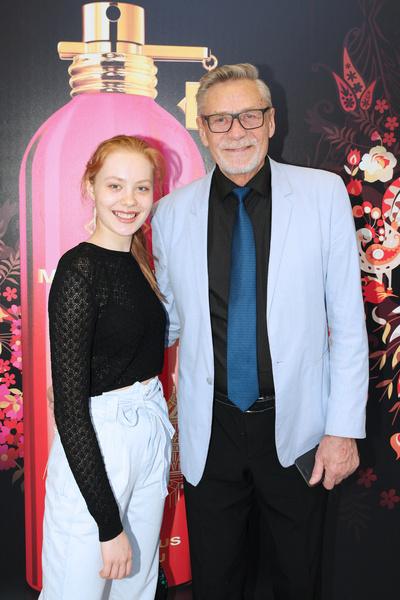 Александр Михайлов с дочерью Мирославой