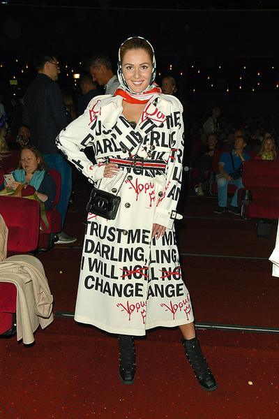 Актриса на премьере фильма «Малефисента: Владычица тьмы», Москва